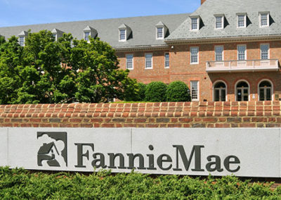 Congratulations Due at Fannie Mae