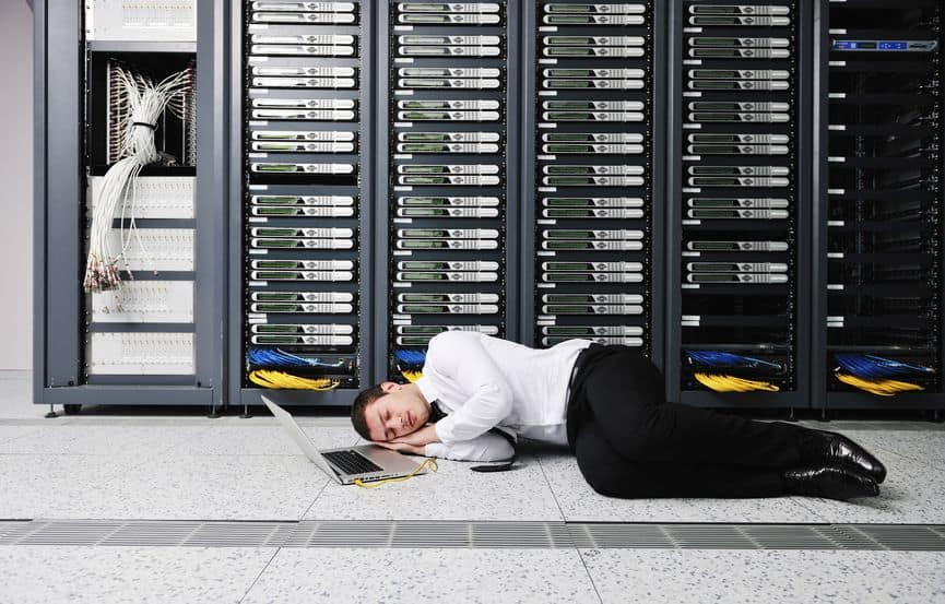 data center failure is embarrassing and inconvenient