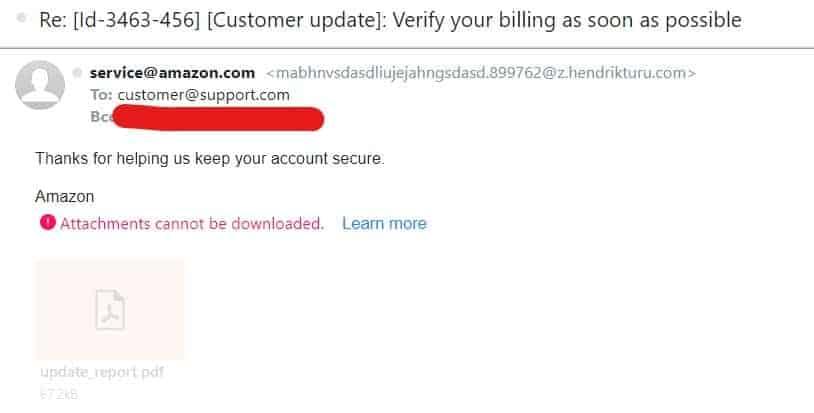 verify email sender
