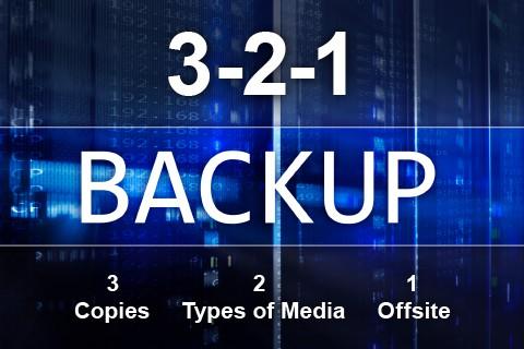 3-2-1 backup