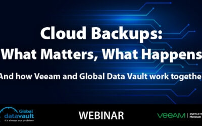 Cloud Backup Webinar: What Matters, What Happens