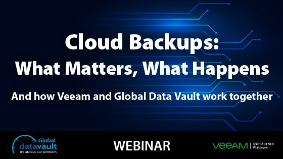 cloud backup webinar