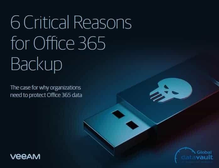 Veeam Critical Reasons to Back Up O365 Thumbnaiil