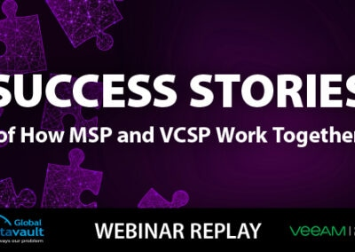 MSPs + GDV = Success