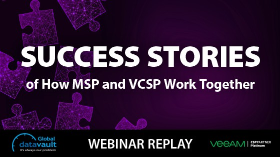 MSPs and VCSPs webinar