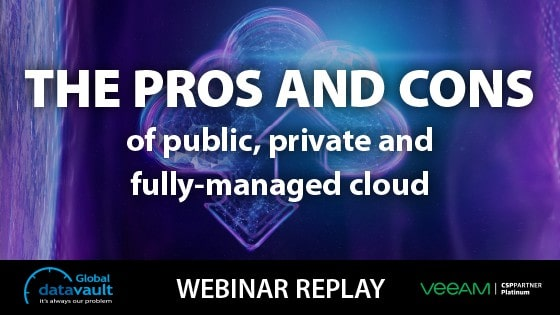 Webinar Thumbnail - public, private and fully managed cloud