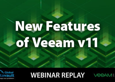 Veeam Backup & Replication v11 Webinar