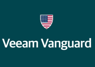 Global Data Vault Implementation Engineer Named as Veeam Vanguard