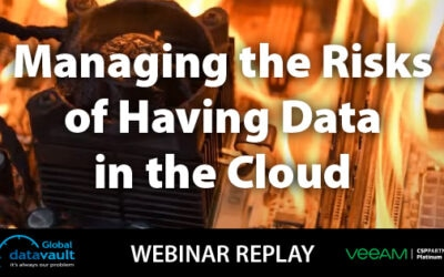 Managing the Risk of Having Data in the Cloud