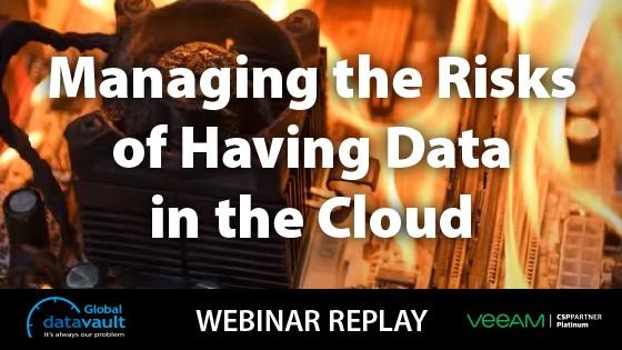 Managing Risk of Data in the Cloud Webinar