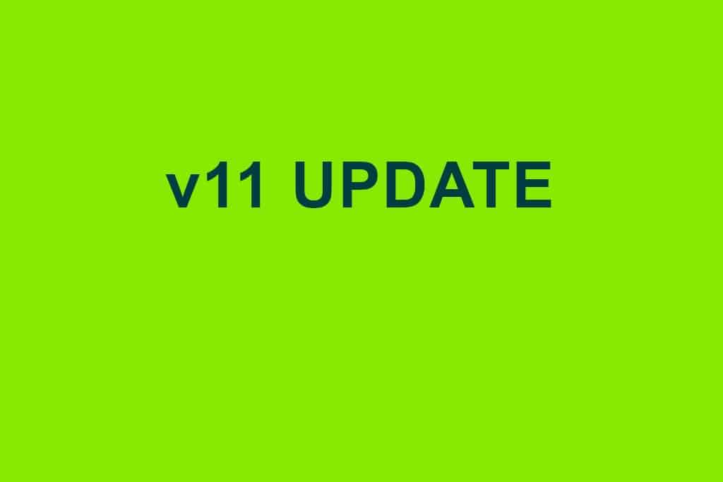 v11 Update