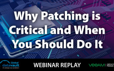 Cybersecurity Webinar: Why Patching is Critical