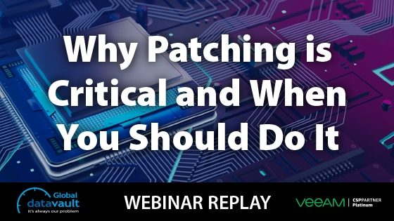 patching is critical