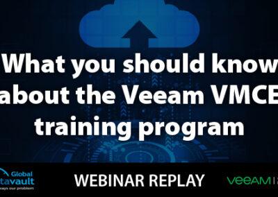 Webinar: The Importance of Veeam VMCE Certification