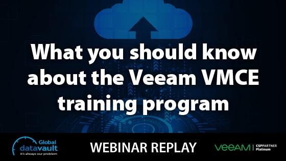 Veeam VMCE Certification Webinar