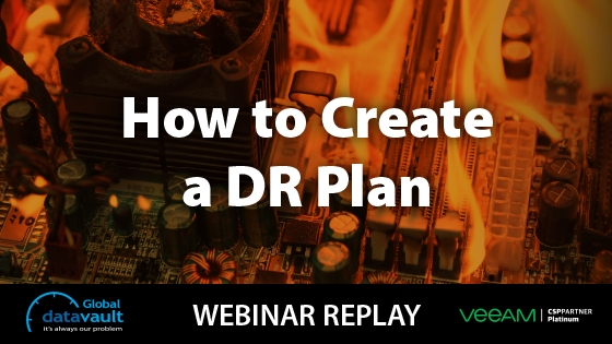 Didaster Recovery Webinar