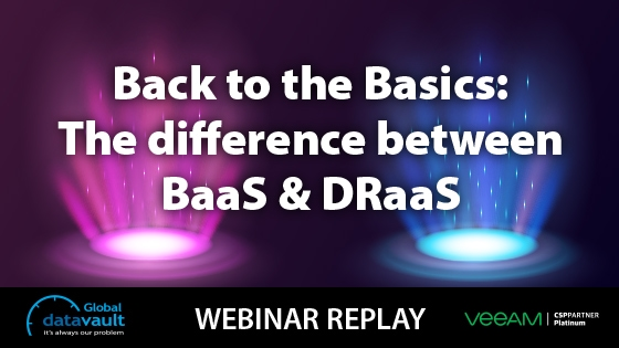 The difference between BaaS and DRaaS
